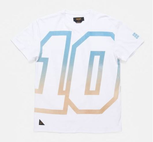 Picture of The 10 Car Tee White