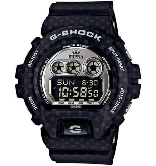 Picture of G-SHOCK x SUPRA Black