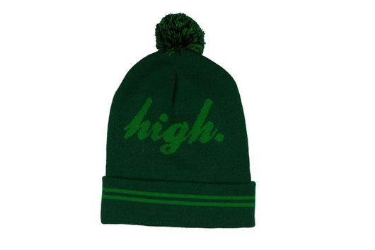 Picture of Domo High Pom Beanie Green