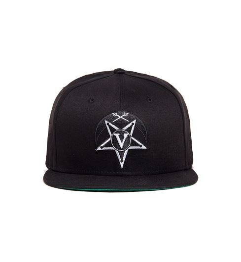 Picture of V Star Crescent New Era Black