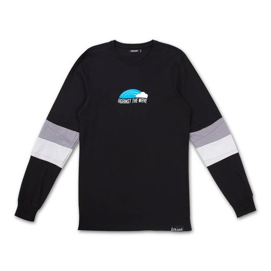 Picture of AGAINST THE WAVE L/S Black