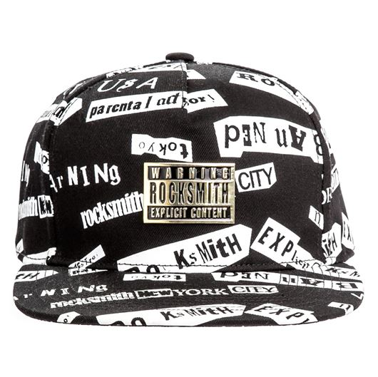 Picture of RANSOM SNAPBACK Black