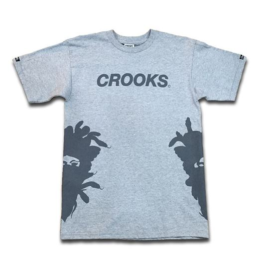 Picture of Crooks Sport Tee Grey
