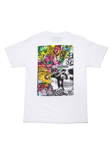Picture of GATES OF HELL TEE White