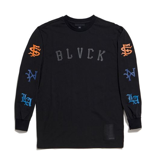 Picture of All - City Long Sleeve Tee Black