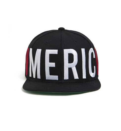 Picture of Old Glory Snapback Black