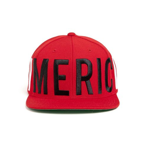 Picture of Old Glory Snapback Red