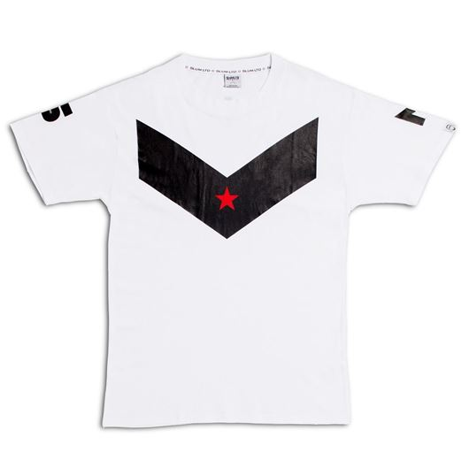 Picture of S.L.U.M. Victory Tee White