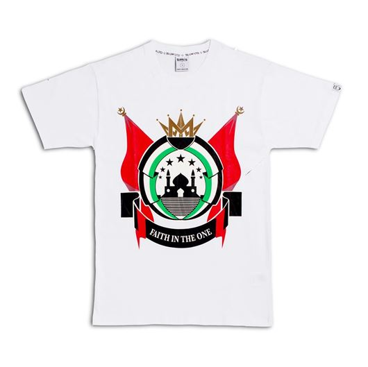Picture of Place of Peace Tee White