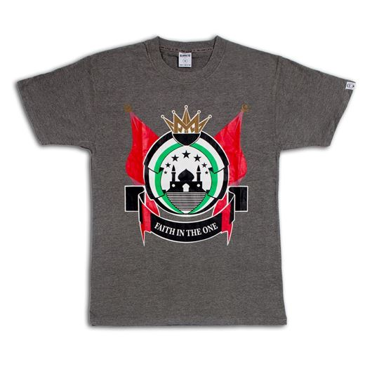 Picture of Place of Peace Tee Grey