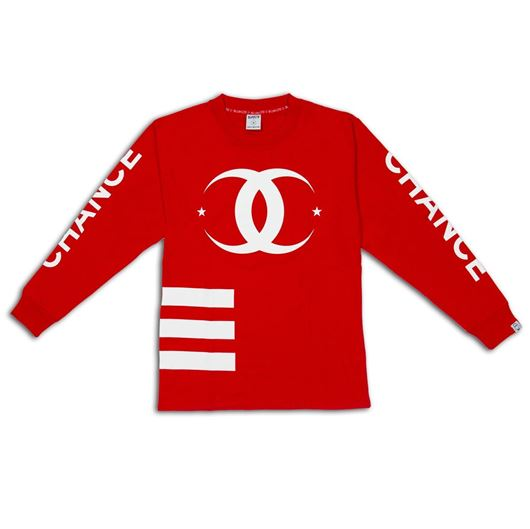 Picture of Chance L/S Tee Red