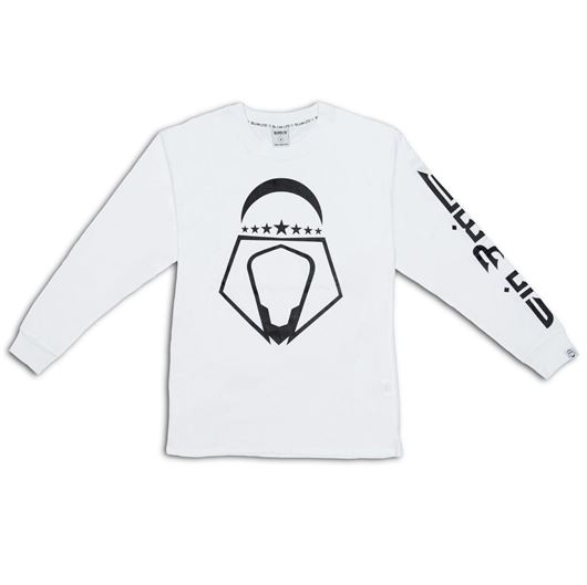 Picture of Arab Head L/S Tee White