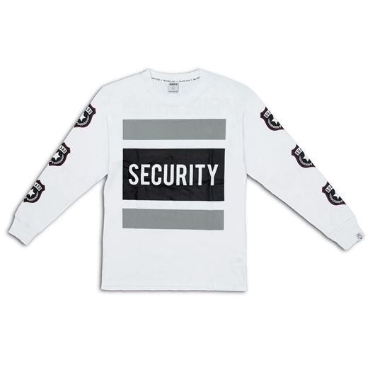 Picture of Peace Officer L/S Tee White