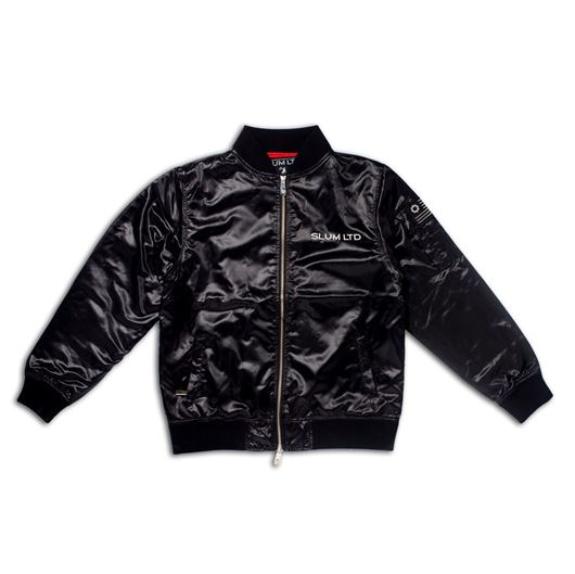 Picture of Basit MA-1 Bomber Jacket Black
