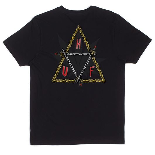 Picture of Swords Triple Triangle Tee Black