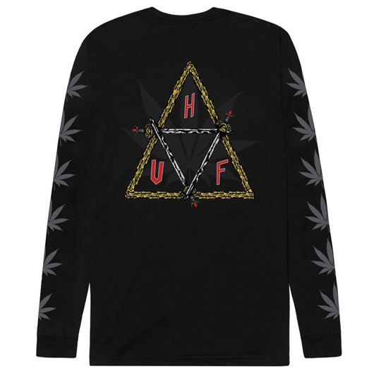 Picture of Swords Triple Triangle L/S Black