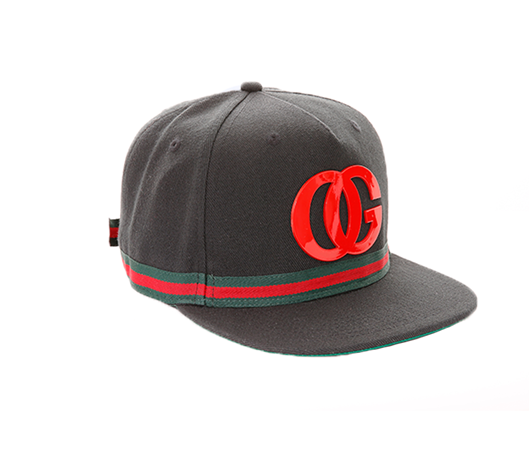 Picture of OG BEVERLY HILLS STRAPBACK Black