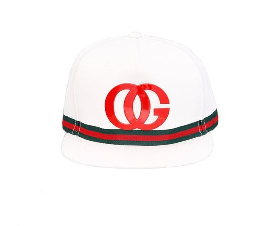 Picture of OG BEVERLY HILLS STRAPBACK White