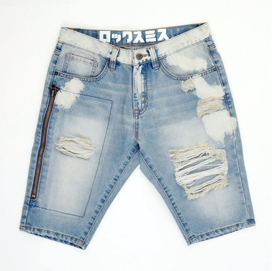 Picture of BEDFORD DENIM SHORTS Light Blue