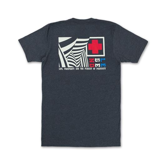 Picture of WAVES & STARS TEE  Indigo