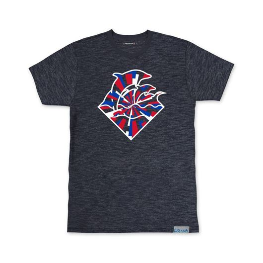 Picture of WAVES INDEPENDENCE TEE Indigo
