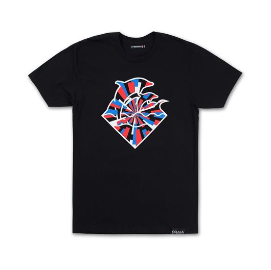 Picture of WAVES INDEPENDENCE TEE Black