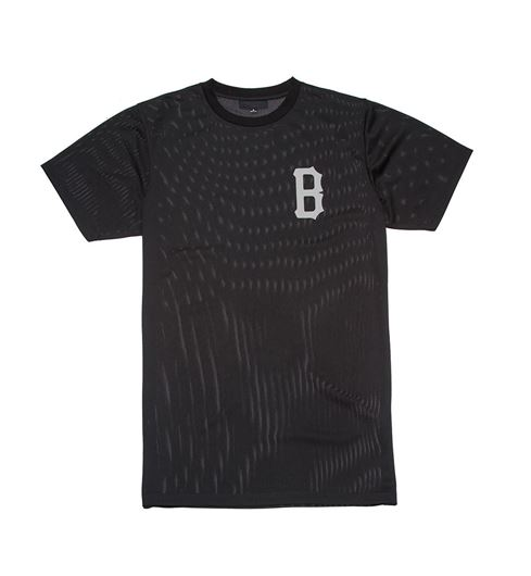 Picture of B Logo Athletic Tee Black