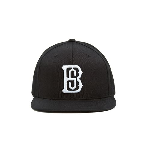 Picture of Monogrvm Snapback Black