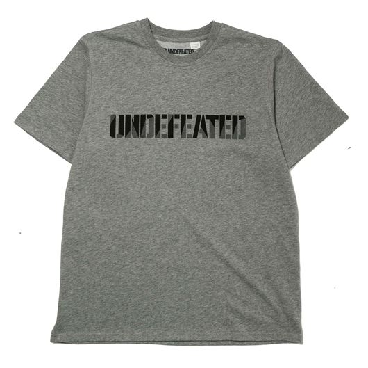 Picture of Undefeated Tech Tee Grey Heather