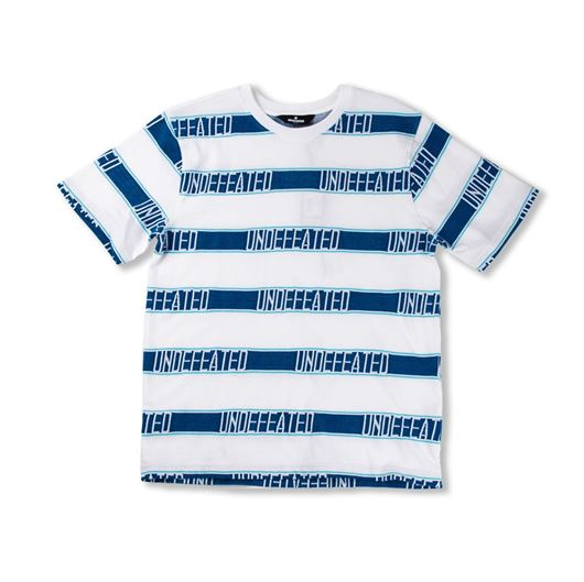 Picture of Jaquard Logo S/S Crew White