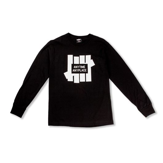 Picture of Anytime L/S Tee Black