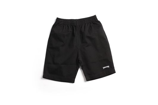 Picture of LIGHT JERSEY DRAW STRING SHORTS Black F