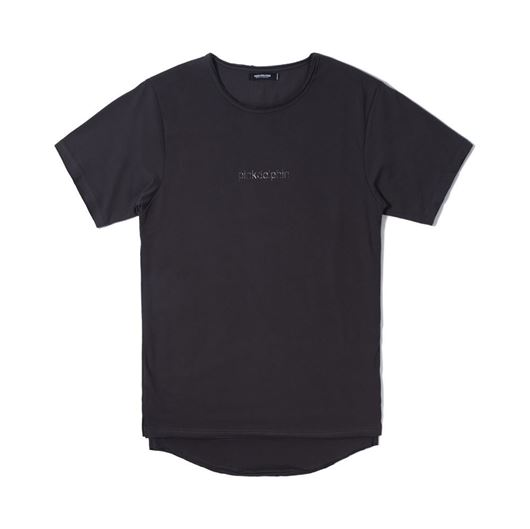 Picture of DOLPHIN CLASSIC INSET TEE Charcoal