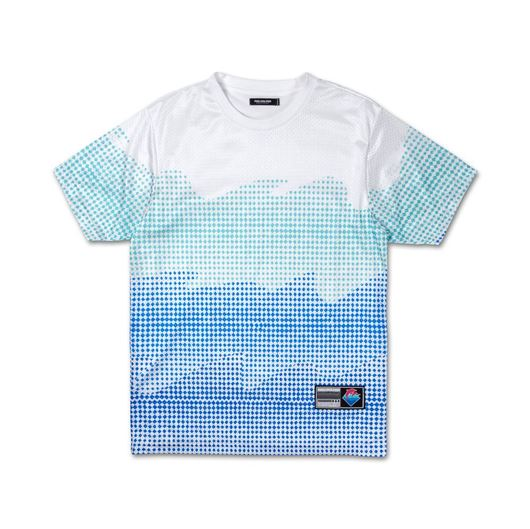 Picture of WAVES HALFTONE TEE White