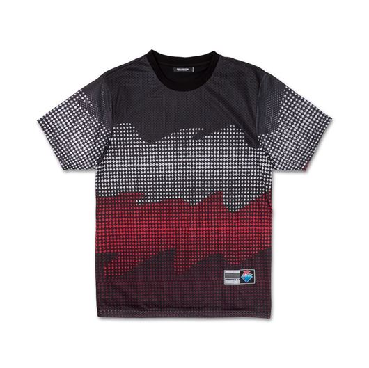Picture of WAVES HALFTONE TEE Black