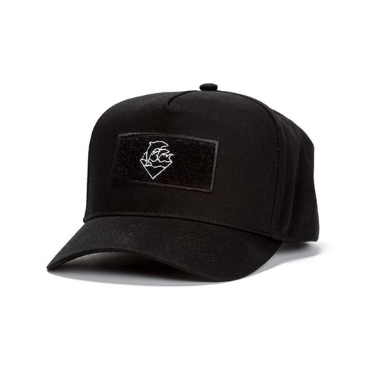 Picture of MILITARY VELCRO SNAPBACK Black