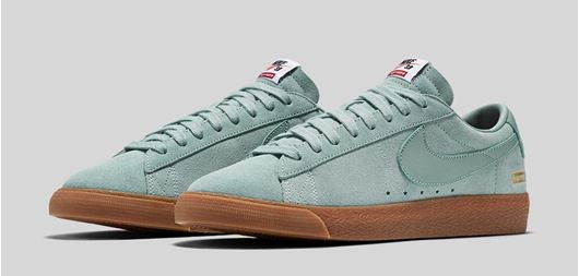 Picture of Supreme x Nike SB Blazer Low Mint Gum