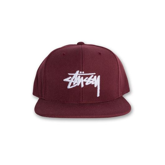Picture of Stock FA16 Cap Burgundy