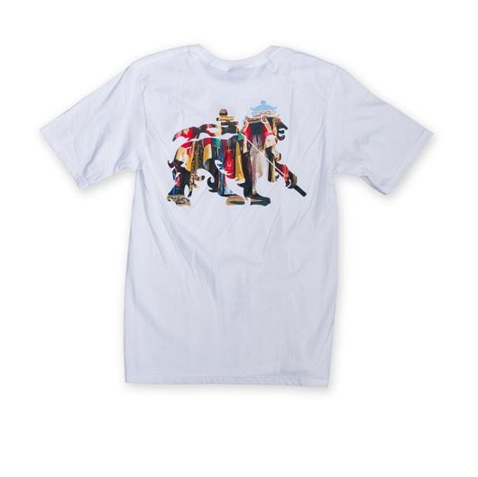 Picture of Tribal Lion Tee White