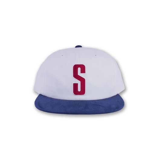 Picture of Vintage S Cap White