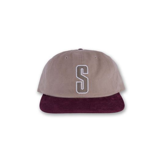 Picture of Vintage S Logo Cap Tan