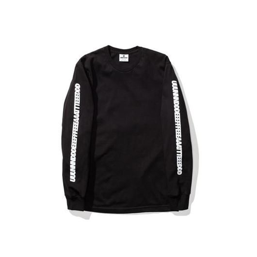 Picture of Uuunnnddd L/S tee Black