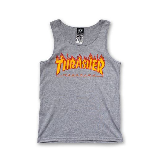 Picture of FLAME TANK TOP Heather Grey
