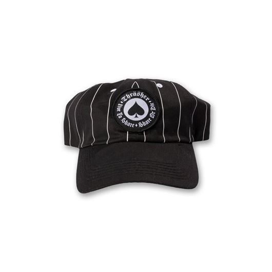 Picture of OATH PINSTRIPE SNAPBACK Black