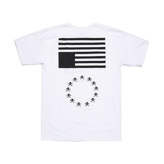 Picture of BLVCK REBELS Tee White