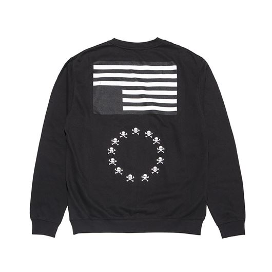 Picture of BLVCK REBELS L/S Tee Black