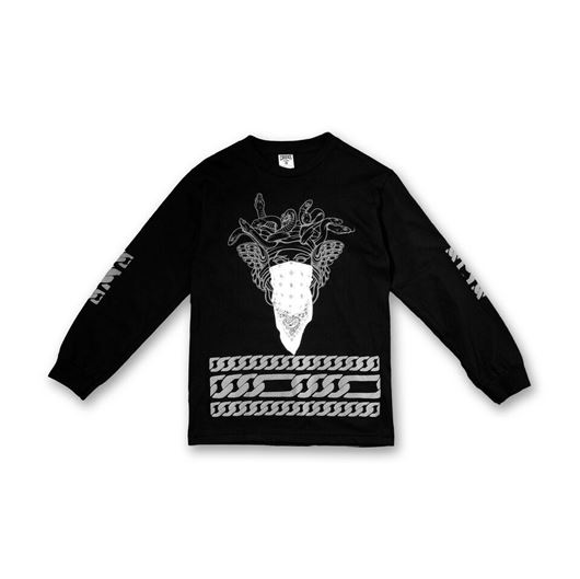 Picture of Bandusa L/S Tee Black