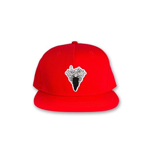 Picture of Medusa Patch Snapback True Red