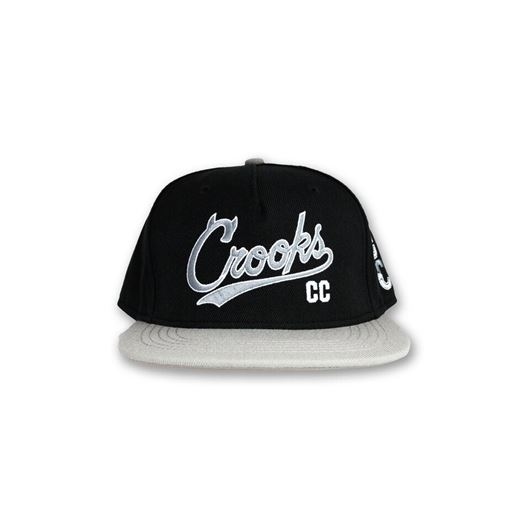 Picture of Syndicate C Snapback Black/Cement
