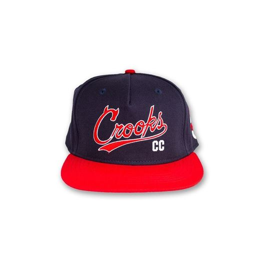 Picture of Syndicate C Snapback Navy/True Red